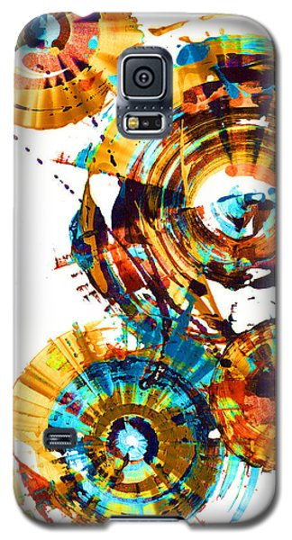 Galaxy S5 Case featuring the painting Playing In The Wind 1000.042312 - Popart-1 by Kris Haas