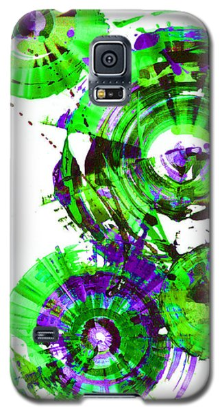 Galaxy S5 Case featuring the painting Playing In The Wind 1000.042312 - Popart-2 by Kris Haas
