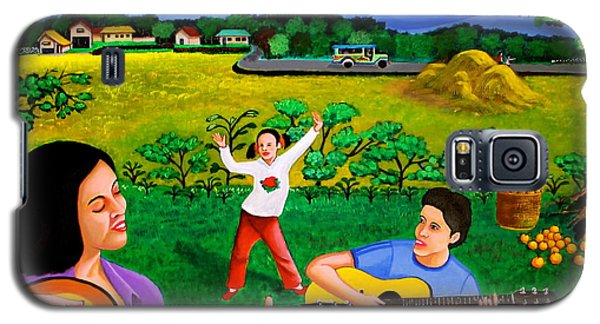 Playing Melodies Under The Shade Of Trees Galaxy S5 Case