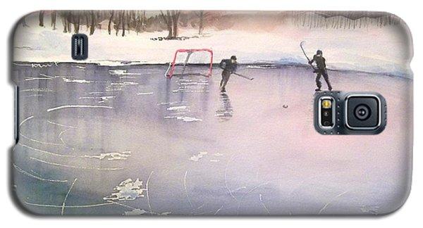 Playing On Ice Galaxy S5 Case by Yoshiko Mishina