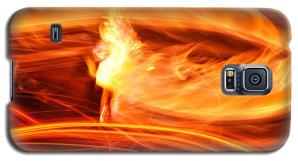 Playing With Fire 14 Galaxy S5 Case by Cheryl McClure