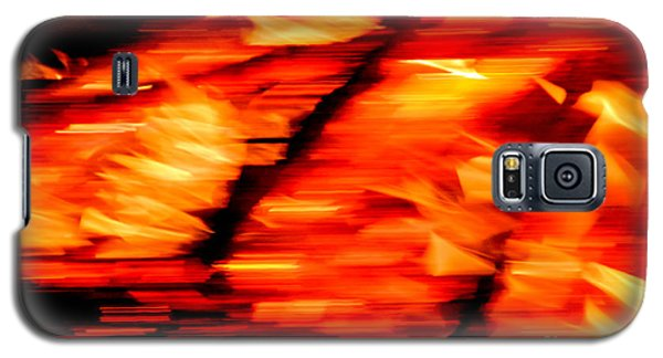 Playing With Fire 2 Galaxy S5 Case by Cheryl McClure