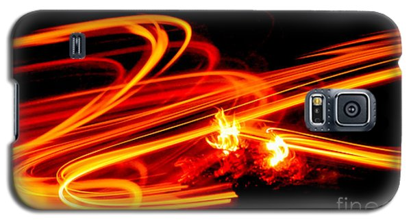 Playing With Fire 4 Galaxy S5 Case by Cheryl McClure