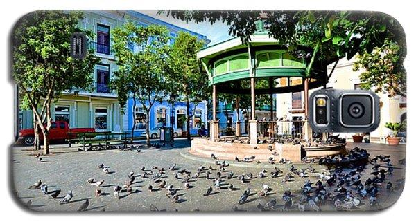 Galaxy S5 Case featuring the photograph Plaza De Armas by Ricardo J Ruiz de Porras