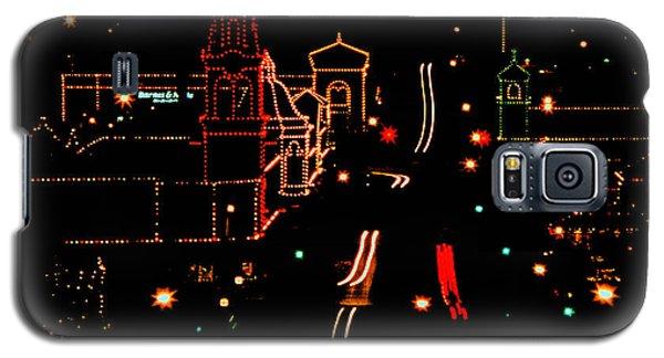 Plaza Lights 1978 Galaxy S5 Case