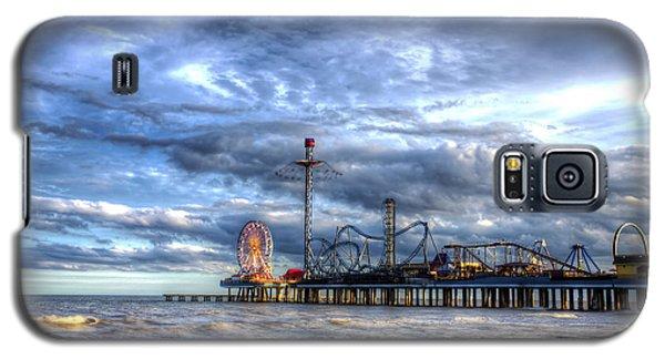 Pleasure Pier Galveston Galaxy S5 Case by Shawn Everhart