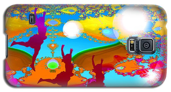 Galaxy S5 Case featuring the digital art Pleasure by Ute Posegga-Rudel