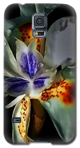 Pleatleaf Flower Galaxy S5 Case