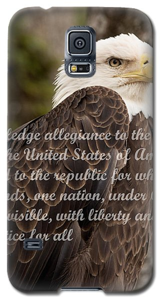 Pledge Of Allegiance Galaxy S5 Case