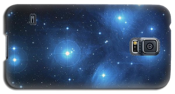 Galaxy S5 Case featuring the photograph Pleiades - Star System by Absinthe Art By Michelle LeAnn Scott