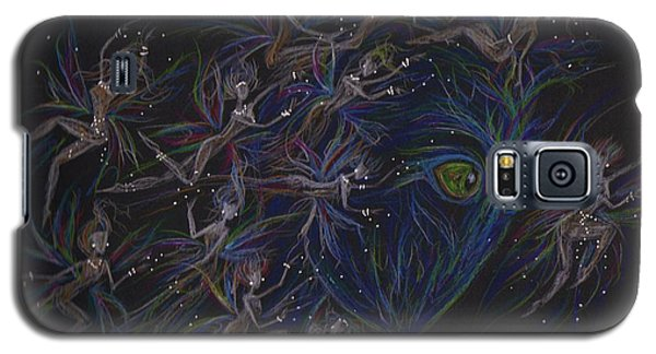 Galaxy S5 Case featuring the drawing Plethera by Dawn Fairies