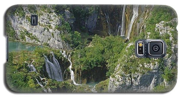 Plitvice Lakes In Croatia Galaxy S5 Case by Rudi Prott