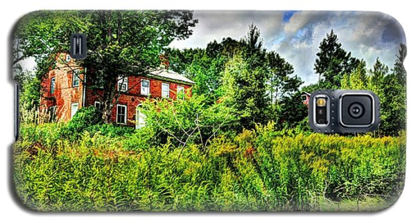 Plott Road Farmhouse Galaxy S5 Case