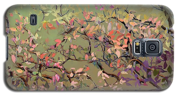 Plum Blossoms Galaxy S5 Case by Ursula Freer