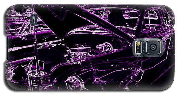 Galaxy S5 Case featuring the digital art Plum Perfect by Bobbee Rickard