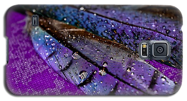 Plum Plumage Galaxy S5 Case by Adria Trail