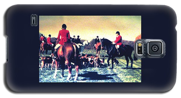 Plum Run Hunt Opening Day Galaxy S5 Case by Angela Davies