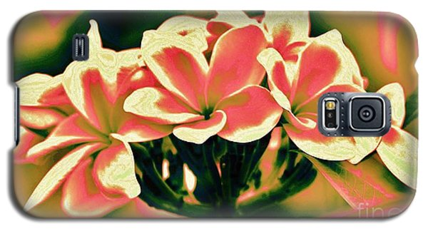 Galaxy S5 Case featuring the photograph Plumeria - A Different View by Craig Wood