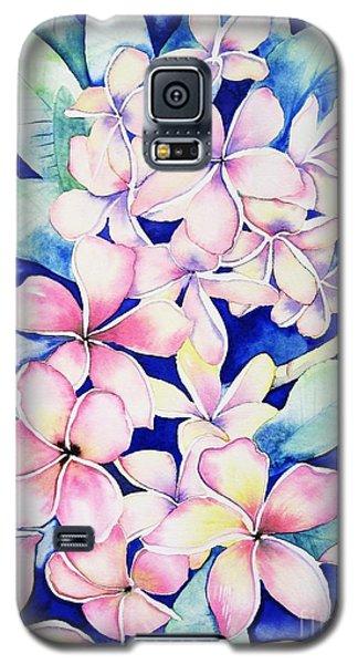 Plumerias Of Maui Galaxy S5 Case