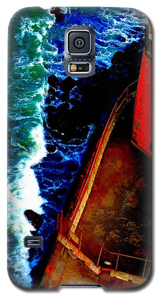 Plunging From Golden Gate Galaxy S5 Case