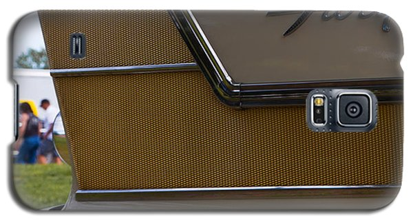 Galaxy S5 Case featuring the photograph Plymouth Fury Tail Fin Detail by Mick Flynn