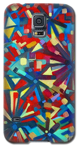 Galaxy S5 Case featuring the painting Poetry In Motion  051108 by Selena Boron