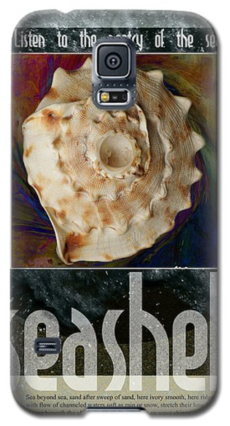 Galaxy S5 Case featuring the digital art Poetry Of The Sea by John Fish