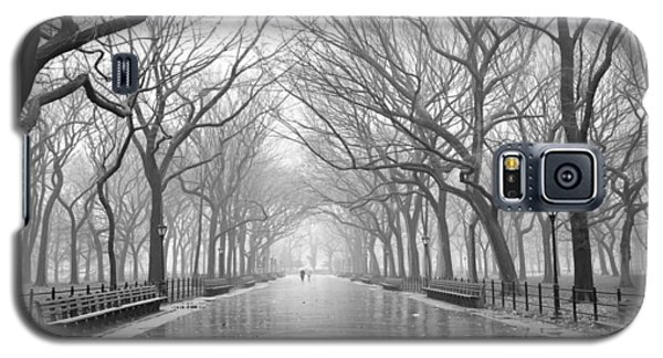 Galaxy S5 Case featuring the photograph New York City - Poets Walk Central Park by Dave Beckerman