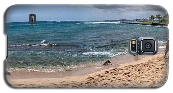 Poi Pu Beach 1 Galaxy S5 Case