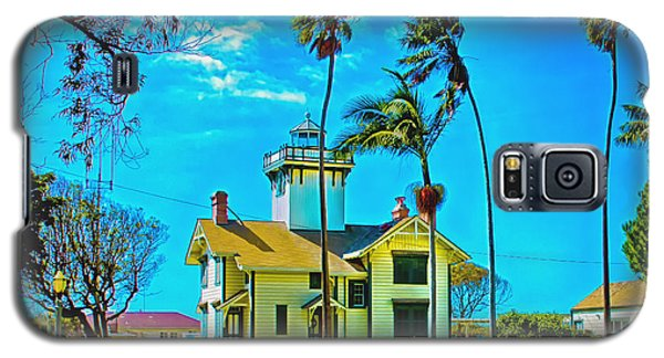 Point Fermin Lighthouse Galaxy S5 Case by Joseph Hollingsworth