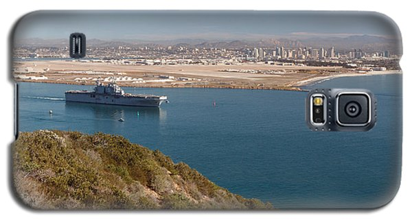 Galaxy S5 Case featuring the photograph Point Loma Looking Toward San Diego by Scott Rackers