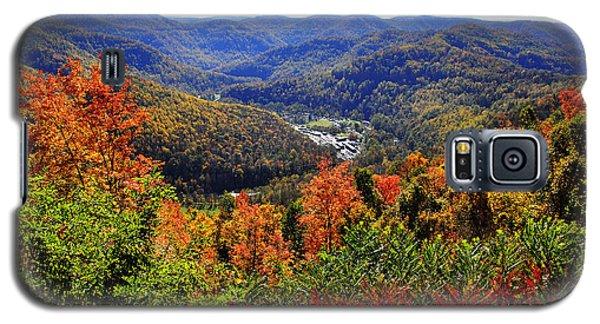 Point Mountain Overlook In Autumn Galaxy S5 Case