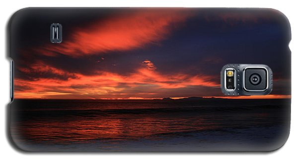 Point Mugu 1-9-10 Just After Sunset Galaxy S5 Case by Ian Donley