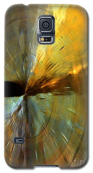 Point Of Impact In Copper And Green Galaxy S5 Case by Newel Hunter