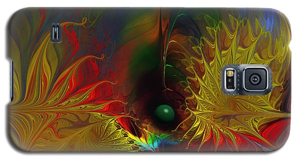 Point Of No Return-abstract Fractal Art Galaxy S5 Case