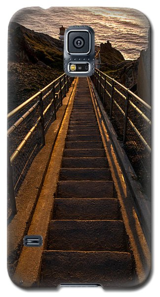 Point Reyes Lighthouse Staircase Galaxy S5 Case