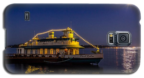 Point Ruston Visitor Center Ship At Night Galaxy S5 Case