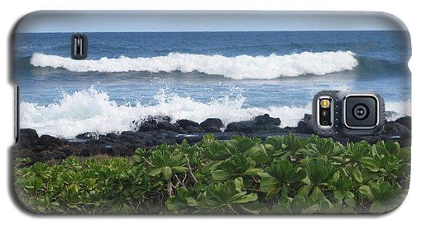 Galaxy S5 Case featuring the photograph Po'ipu by Alohi Fujimoto