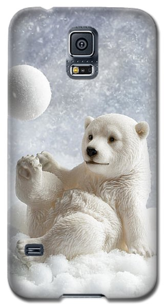 Polar Bear Galaxy S5 Case - Polar Bear Decoration by Amanda Elwell