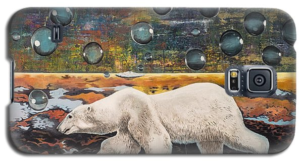 Polar Bear Displacement Replacement Galaxy S5 Case