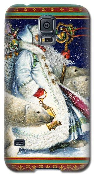 Polar Bear Galaxy S5 Case - Polar Magic by Lynn Bywaters
