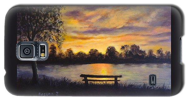 Polish Sunset Galaxy S5 Case by Bozena Zajaczkowska