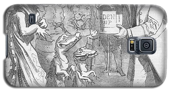 Political Crocodile Galaxy S5 Case