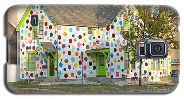 Polka Dot House Galaxy S5 Case by Steve Augustin