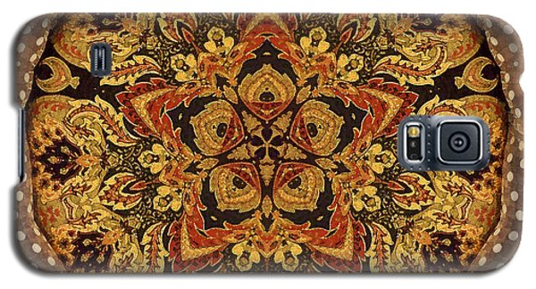 Polka Dot Tapestry 10 Galaxy S5 Case