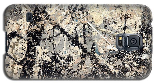 Pollock's Name On Lavendar Mist Galaxy S5 Case