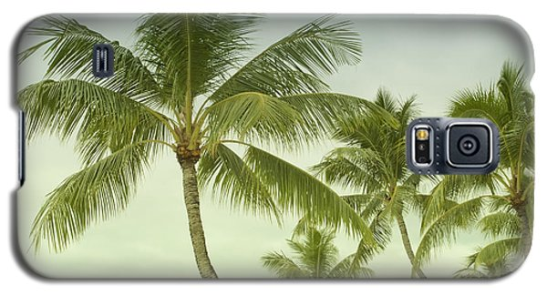 Polynesia Palm Trees Galaxy S5 Case