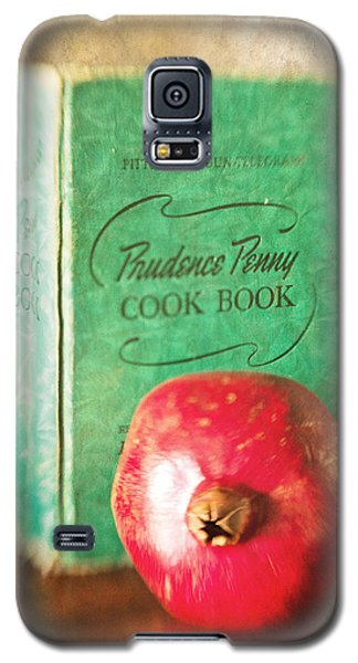 Pomegranate And Vintage Cook Book Still Life Galaxy S5 Case