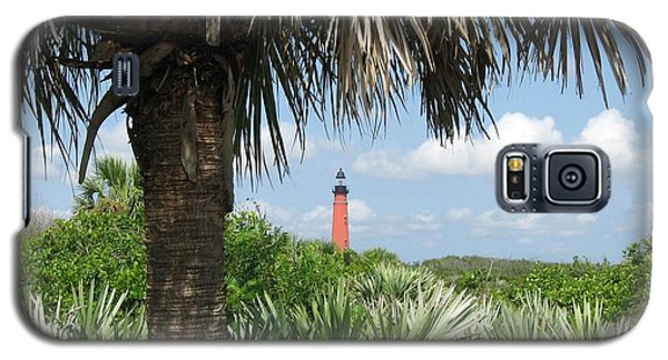 Galaxy S5 Case featuring the digital art Ponce Inlet Lighthouse Florida 2 by Brian Johnson