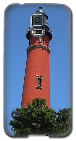 Galaxy S5 Case featuring the digital art Ponce Inlet Lighthouse Florida by Brian Johnson